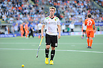 The Hague, Netherlands, June 06: Mats Grambusch #8 of Germany looks on during the field hockey group match (Men - Group B) between Germany and The Netherlands on June 6, 2014 during the World Cup 2014 at Kyocera Stadium in The Hague, Netherlands. Final score 0-1 (0-1) (Photo by Dirk Markgraf / www.265-images.com) *** Local caption ***