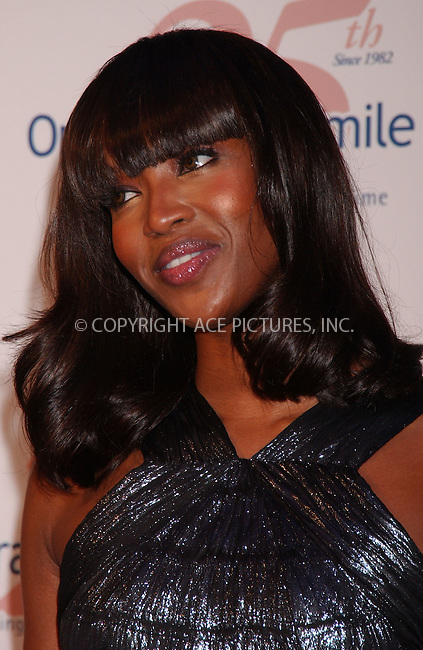 WWW.ACEPIXS.COM . . . . .....May 11, 2007. New York City.....Model Naomi Campbell arrives at the Operation Smile 25th Anniversary Collection Couture Event held at the 7 World Trade Centre,..  ....Please byline: Kristin Callahan - ACEPIXS.COM..... *** ***..Ace Pictures, Inc:  ..Philip Vaughan (646) 769 0430..e-mail: info@acepixs.com..web: http://www.acepixs.com