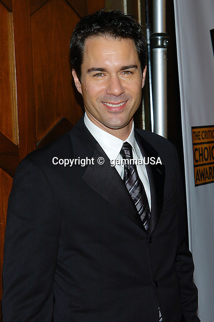 Eric McCormack arriving at the10th Annual Critic's Choice Awards at the Wiltern Theatre in Los Angeles. .January 10, 2005.