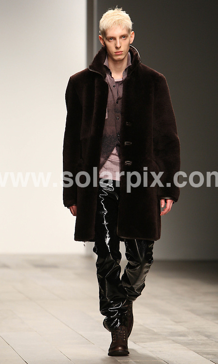 **ALL ROUND PICTURES FROM SOLARPIX.COM**                                             **WORLDWIDE SYNDICATION RIGHTS**                                                                                  Caption: James Long's collection during London Fashion Week at Somerset House in London, UK 22th February, 2011                                                                             This pic:                                                                                              JOB REF:12883        MLW       DATE:23.02.2011                                                            **MUST CREDIT SOLARPIX.COM OR DOUBLE FEE WILL BE CHARGED**                                                                      **MUST AGREE FEE BEFORE ONLINE USAGE**                               **CALL US ON: +34 952 811 768 or LOW RATE FROM UK 0844 617 7637**