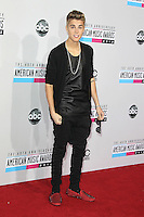 LOS ANGELES, CA - NOVEMBER 18: Justin Bieber at the 40th American Music Awards held at Nokia Theatre L.A. Live on November 18, 2012 in Los Angeles, California. Credit: mpi20/MediaPunch Inc. NortePhoto
