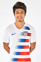 SAN PEDRO DEL PINATAR, SPAIN - MARCH 2019: U.S. Soccer USMNT U-20 Portraits & Lifestyles.