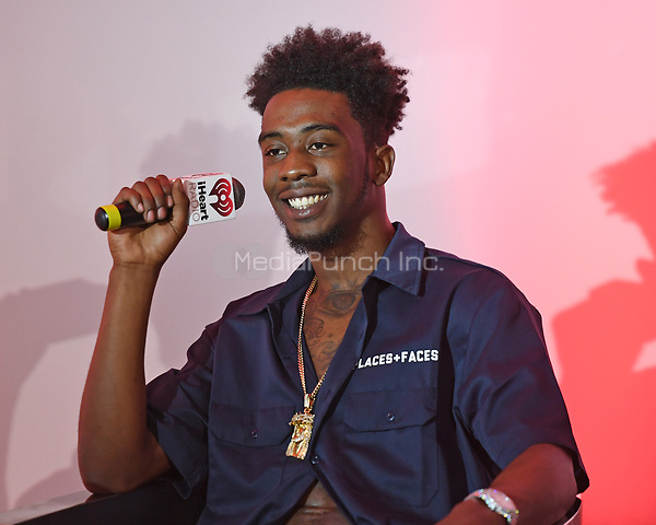 FORT LAUDERDALE, FL - APRIL 27: Desiigner at iHeart Radio Station 103.5 The Beat on April 27, 2017 in Fort Lauderdale, Florida. Credit: mpi04/MediaPunch