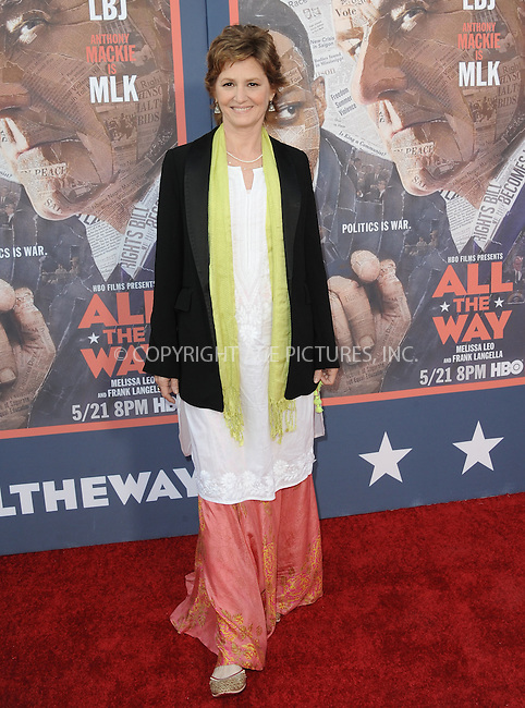 WWW.ACEPIXS.COM<br /> <br /> May 10 2016, LA<br /> <br /> Melissa Leo arriving at the premiere of HBO's 'All The Way' at Paramount Studios on May 10, 2016 in Hollywood, California.<br /> <br /> By Line: Peter West/ACE Pictures<br /> <br /> <br /> ACE Pictures, Inc.<br /> tel: 646 769 0430<br /> Email: info@acepixs.com<br /> www.acepixs.com