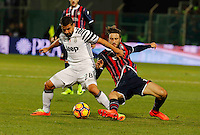 Tomas Rincon Diego Falcinelli     during the  italian serie a soccer match,between Crotone and Juventus      at  the Scida   stadium in Crotone  Italy , February 08, 2017