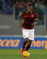 Calcio, Serie A:  Roma vs Palermo. Roma, stadio Olimpico, 21 febbraio 2016. <br /> Roma's Antonio Ruediger in action during the Italian Serie A football match between Roma and Palermo at Rome's Olympic stadium, 21 February 2016.<br /> UPDATE IMAGES PRESS/Riccardo De Luca