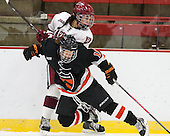Briana Mastel (Harvard - 17), Karen MacDonald (Princeton - 16) - The Harvard University Crimson defeated the visiting Princeton University Tigers 4-0 on Saturday, October 26, 2013, at Bright-Landry Hockey Center in Cambridge, Massachusetts.