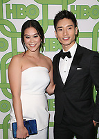 BEVERLY HILLS, CA - JANUARY 6: Dianne Doan, Manny Jacinto, at the HBO Post 2019 Golden Globe Party at Circa 55 in Beverly Hills, California on January 6, 2019. <br /> CAP/MPI/FS<br /> &copy;FS/MPI/Capital Pictures