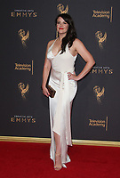 LOS ANGELES, CA - SEPTEMBER 09: Kathryn Burns, at the 2017 Creative Arts Emmy Awards at Microsoft Theater on September 9, 2017 in Los Angeles, California. <br /> CAP/MPIFS<br /> &copy;MPIFS/Capital Pictures