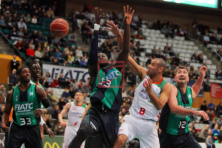 League ACB-Endesa 2015-2016. Game: 16.<br /> FIATC Joventut vs Laboral Kutxa Baskonia: 68-89.<br /> Drame, Hanga &amp; Suton.
