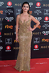 Monica Cruz attends red carpet of Goya Cinema Awards 2018 at Madrid Marriott Auditorium in Madrid , Spain. February 03, 2018. (ALTERPHOTOS/Borja B.Hojas)