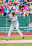 25 July 2017: Tri-City ValleyCats designated hitter Adrian Tovalin, a 16th round draft pick for the Houston Astros, in action against the Vermont Lake Monsters at Centennial Field in Burlington, Vermont. The Lake Monsters defeated the ValleyCats 11-3 in NY Penn League action. Mandatory Credit: Ed Wolfstein Photo *** RAW (NEF) Image File Available ***