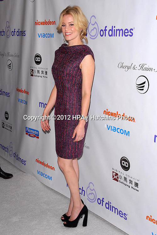 LOS ANGELES - DEC 7:  Elizabeth Banks arrives to the 2012 March Of Dimes Celebration Of Babies at Beverly Hills Hotel on December 7, 2012 in Beverly Hills, CA
