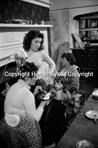 Richmond, London, 1975 <br /> There was an open door policy at Chiswick Women&rsquo;s Aid; women who suffered abuse could just turn up. They came with their often disturbed children and were sometimes mentally damaged themselves. The community offered an environment, where women in similar circumstances could provide emotional and moral support as well as friendship.
