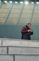 Fussball Bundesliga Saison 2011/2012 26. Spieltag Hertha BSC Berlin - FC Bayern Muenchen Trainer Jupp HEYNCKES (FCB).