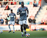 Paul Pogba of Manchester United warms up during the premier league match at the Vitality Stadium, Bournemouth. Picture date 18th April 2018. Picture credit should read: David Klein/Sportimage
