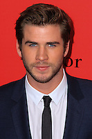 "NEW YORK, NY - NOVEMBER 20: Liam Hemsworth at the New York Premiere Of Lionsgate's ""The Hunger Games: Catching Fire"" held at AMC Lincoln Square Theater on November 20, 2013 in New York City. (Photo by Jeffery Duran/Celebrity Monitor)"