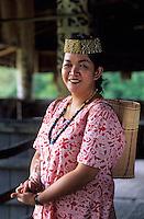 Asie/Malaisie/Bornéo/Sarawak/Kampung Budaya: Tribu des Orang-Ulu