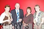 Debra Devane, Michael McCarthy, Mary Lucey and Sheila McCarthy Killarney at the Killarney Mayor's ball in the Gleneagle Hotel, Killarney on Monday night