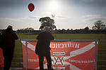 A spectator watching the pre-match warm-up at Yockings Park before Whitchurch Alport hosted Cammell Laird 1907 in the 2017-18 North West Counties Division One play-off final. Alport were formed in 1946 and were named after Alport Farm, Whitchurch, which had been the home of a local footballer Coley Maddocks who had been killed in action in the war. The home team won the match 2-1 watched by a crowd of 733, a club record attendance.