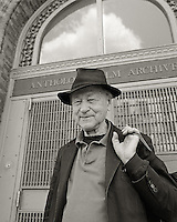 Jonas Mekas, 2006.  Filmmaker, writer, poet, curator.  Founder, Anthology Film Archives.
