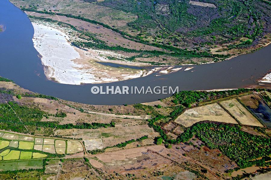Aérea do Rio Parnaíba em Joaquim Pires. Piauí, 2009. Foto de Zig Koch.