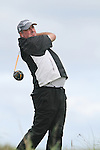 Day one of the Irish PGA championship at Seapoint Golf Club, Damian Mooney on the 10th tee...Picture Jenny Matthews/Newsfile.ie