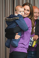 Sam Faiers and son Paul<br /> at the launch WALK IT London for Crohn&rsquo;s &amp; Colitis UK charity walk, Embankment, London.<br /> <br /> <br /> &copy;Ash Knotek  D3128  04/06/2016