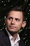 Benj Pasek attends the 2017 Tony Awards Meet The Nominees Press Junket at the Sofitel Hotel on May 3, 2017 in New York City.