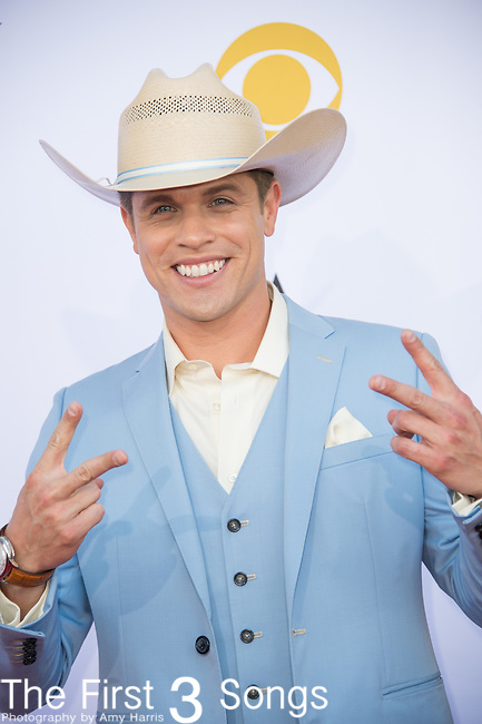 Dustin Lynch attends the 50th Academy Of Country Music Awards at AT&T Stadium on April 19, 2015 in Arlington, Texas.