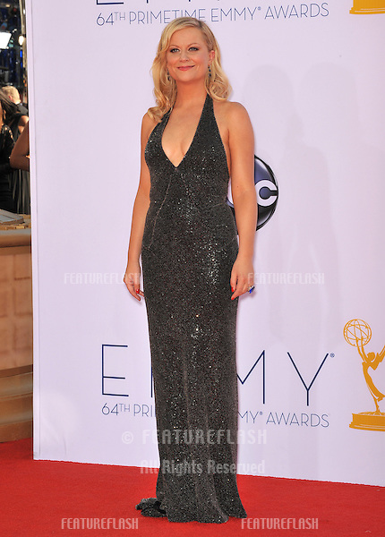 Amy Poehler at the 64th Primetime Emmy Awards at the Nokia Theatre LA Live..September 23, 2012  Los Angeles, CA.Picture: Paul Smith / Featureflash