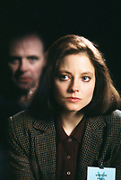 The Silence of the Lambs (1991) <br /> Jodie Foster &amp; Anthony Hopkins<br /> *Filmstill - Editorial Use Only*<br /> CAP/KFS<br /> Image supplied by Capital Pictures