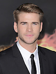 Liam Hemsworth attends the Lionsgate World Premiere of The hunger Games held at The Nokia Theater Live in Los Angeles, California on March 12,2012                                                                               © 2012 DVS / Hollywood Press Agency