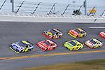 Feb 12, 2009; 2:33:23 PM; Daytona Beach, FL, USA; NASCAR Sprint Cup Series race of the Gatorade Duel at Daytona International Speedway.  Mandatory Credit: (thesportswire.net)