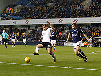 Billy Sharp of Sheffield United in action during the Sky Bet Championship match between Millwall and Sheff United at The Den, London, England on 2 December 2017. Photo by Carlton Myrie / PRiME Media Images.