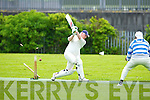 Limerick's John Lenihan Bowled out in the Cricket Munster League Division 3 Limerick v Kerry match at the Tralee Sports Complex on Sunday