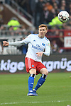 10.03.2019,  GER; 2. FBL, FC St. Pauli vs Hamburger SV ,DFL REGULATIONS PROHIBIT ANY USE OF PHOTOGRAPHS AS IMAGE SEQUENCES AND/OR QUASI-VIDEO, im Bild Einzelaktion Hochformat Rick van Drongelen (Hamburg #04) Foto © nordphoto / Witke
