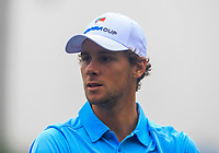 Thomas Pieters (Europe) on the 6th fairway during the Saturday Foursomes of the Eurasia Cup at Glenmarie Golf and Country Club on the 13th January 2018.<br /> Picture:  Thos Caffrey / www.golffile.ie