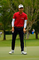 Min Woo Lee (AUS) on the 3rd green during round 4 of the Australian PGA Championship at  RACV Royal Pines Resort, Gold Coast, Queensland, Australia. 22/12/2019.<br /> Picture TJ Caffrey / Golffile.ie<br /> <br /> All photo usage must carry mandatory copyright credit (© Golffile   TJ Caffrey)
