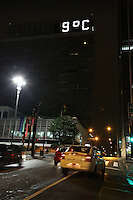 SAO PAULO, SP, 08/06/2012, TERMOMETROS SP.<br /> <br /> Madrugada gelada em S&atilde;o Paulo nessa 6&ordf; Feira (8), os termometros na regi&atilde;o da Av. Paulista marcaram entre 9&ordm;C e 10&ordm;C.<br /> <br />  Luiz Guarnieri/ Brazil Photo Press
