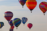 Hot Air Balloons: Stock