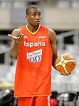 Spain's Serge Ibaka during training session.July 24,2012(ALTERPHOTOS/Acero)