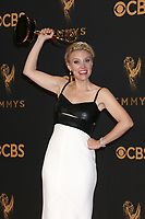 LOS ANGELES - SEP 17:  Kate McKinnon at the 69th Primetime Emmy Awards - Press Room at the JW Marriott Gold Ballroom on September 17, 2017 in Los Angeles, CA