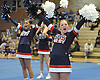 Hannah Johnson and Smithtown West varsity cheerleaders perform during a competition held at Hauppauge High School on Saturday, Jan. 21, 2017.