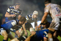 Dave Attwood of Bath Rugby looks on. Premiership Rugby Cup match, between Bath Rugby and Gloucester Rugby on February 3, 2019 at the Recreation Ground in Bath, England. Photo by: Patrick Khachfe / Onside Images