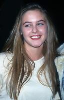 Alicia Silverstone, 1993, Photo By Michael Ferguson/PHOTOlink