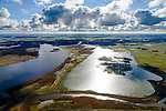 Nederland, Friesland, Gemeente Dongeradeel, 28-02-2016; Ezumazijl, Ezumakeeg, natuurgebied op de grens van het Lauwersmeer en Kollumerwaard.<br /> Nature area on the border of former inner sea.<br /> luchtfoto (toeslag op standard tarieven);<br /> aerial photo (additional fee required);<br /> copyright foto/photo Siebe Swart