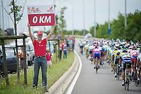 0 km: 175 to go<br /> <br /> Eneco Tour 2013<br /> stage 1: Koksijde - Ardooie (175km)