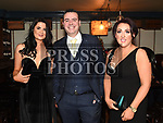 Rachel Gorman, Fionnan McCoy and Brenda Fearon at the Ardee Traders Dinner in Muldoons. Photo:Colin Bell/pressphotos.ie