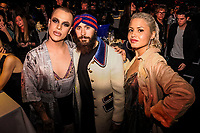 MADRID, SPAIN - NOVEMBER 10: Jedet, Jarde Leto and Ms Nina attend the 40 Music Awards press room at WiZink Center on November 10, 2017 in Madrid, Spain. Credit: Jimmy Olsen/MediaPunch ***NO SPAIN*** /NortePhoto.com